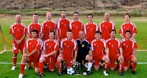 Jensen Clinches Regular Season Kamloops Rec Soccer League